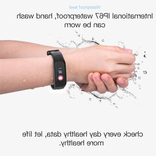 Fitness Monitor IP68 iPhone GPS