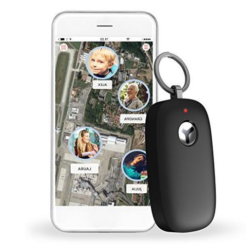 Yepzon Tracker SOS Button for Age Seniors, Travel, 2G and 3G WiFi Tracking Built-in SIM App