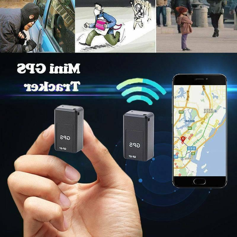 GF-07 Mini Magnetic Car GSM SPY GPS Tracker Real Time Tracki