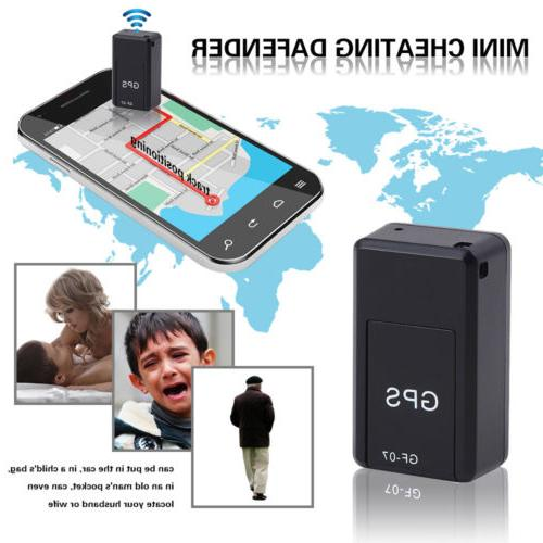 GF07 Mini GPS Real Time Car Locator Tracker Magnetic GSM/GPR