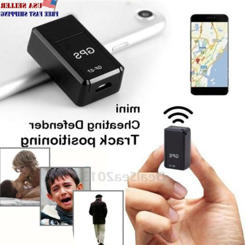 gf 07 magnetic mini car vehicle gps