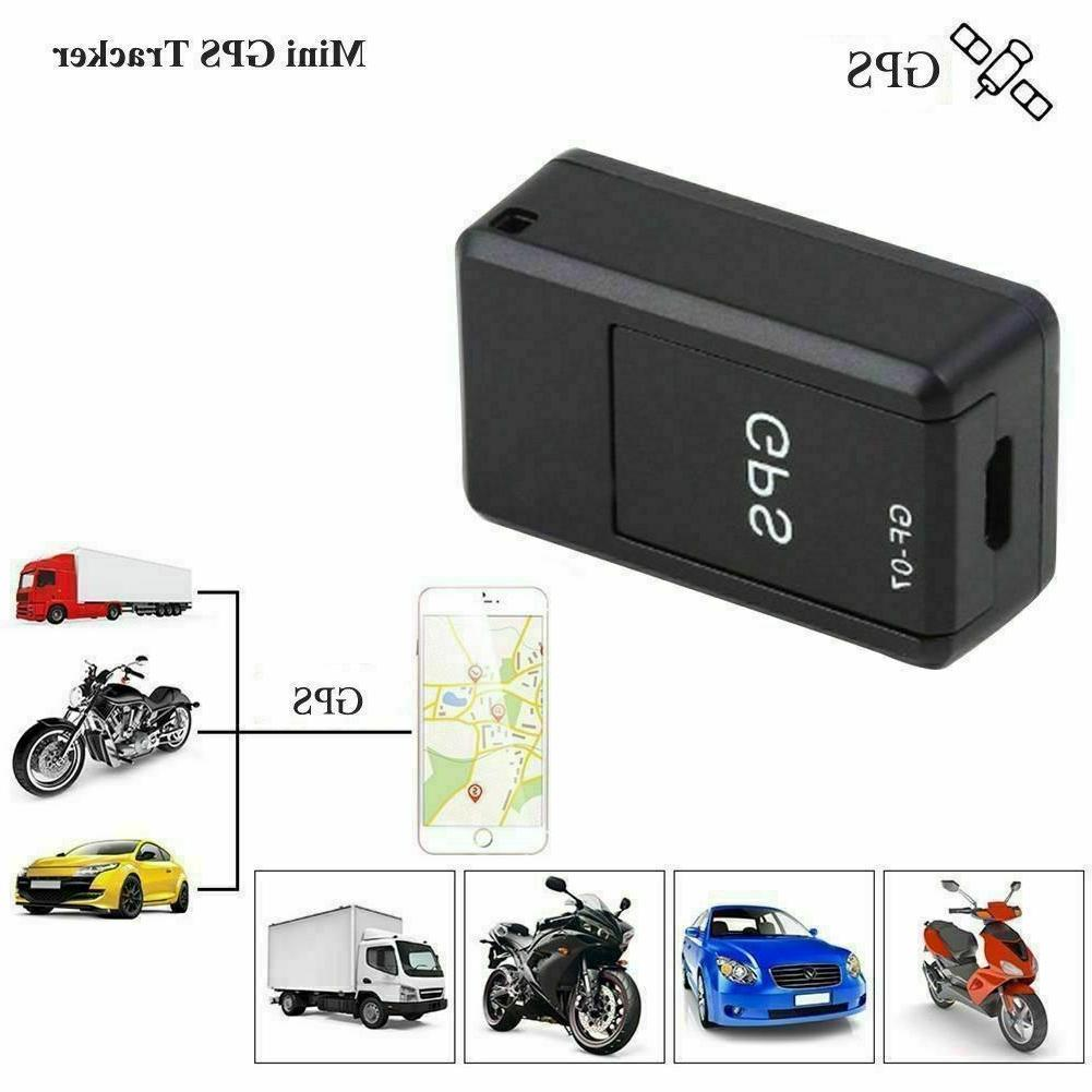 Mini GPS Tracker Real Time Personal and Vehicle Magnetic Loc