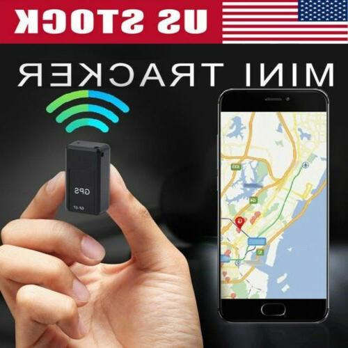 gf07 mini magnetic gps tracker real time
