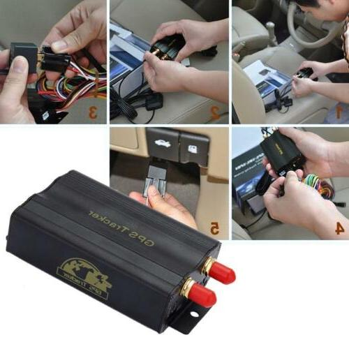 New Vehicle GPS103A System/With