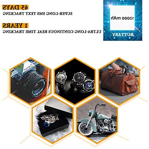 GPS GT021 Real Hidden Tracking Device for Motorcycle Truck Elderly - with Card Life