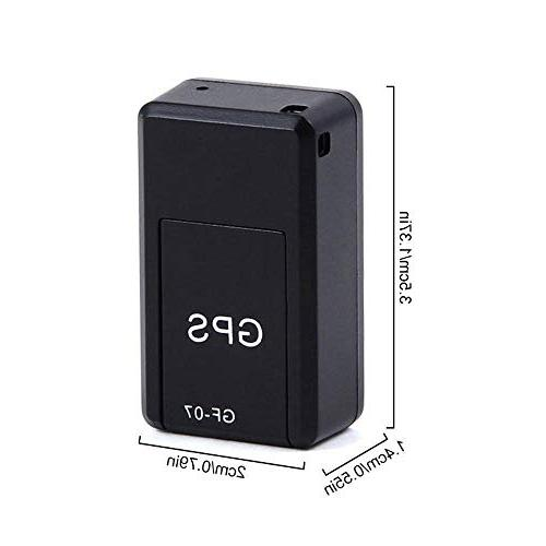Leegoal Tracker, Waterproof Portable Time Personal GPS Tracker with Magnetic, Vehicles, Teens, Spouses,