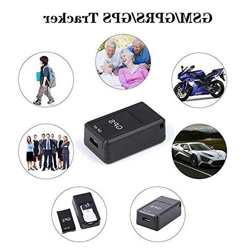Leegoal Waterproof Portable Time Vehicle GPS Tracker Magnetic, for Tracking Vehicles, Teens, Persons