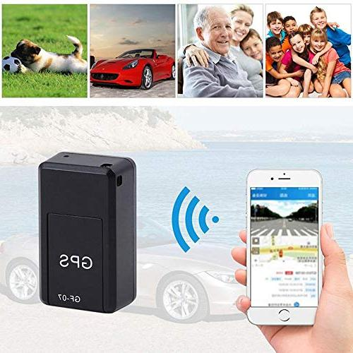 Leegoal GPS Waterproof Portable Time Personal and Vehicle GPS Strong Magnetic, Perfect for Vehicles, Persons Assets