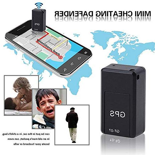 Leegoal Waterproof Mini Time and Vehicle GPS Tracker Vehicles, Persons or