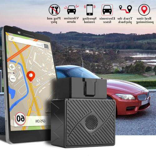 GPS Tracker Real Time Spy Car Vehicles Device