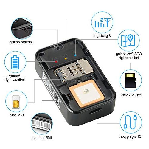 GPS Real Time Tracking Device Anti Theft for Car with Voice and No Monthly Fee