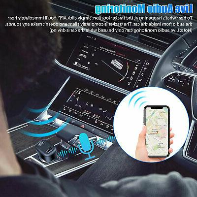 GPS Tracker Real Vehicle Tracking 2USB Charger