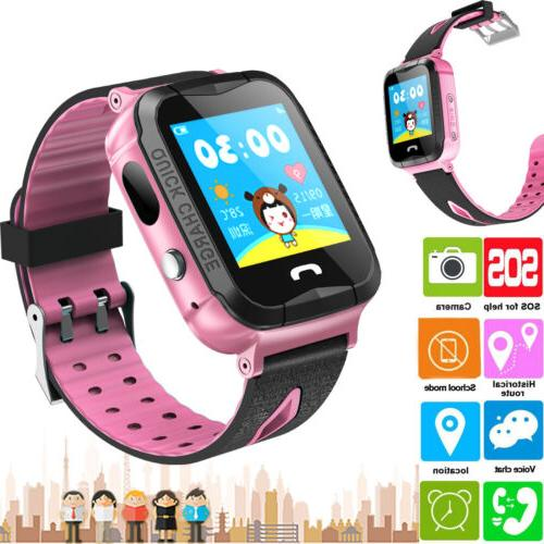 gps tracker smart watch phone kids baby