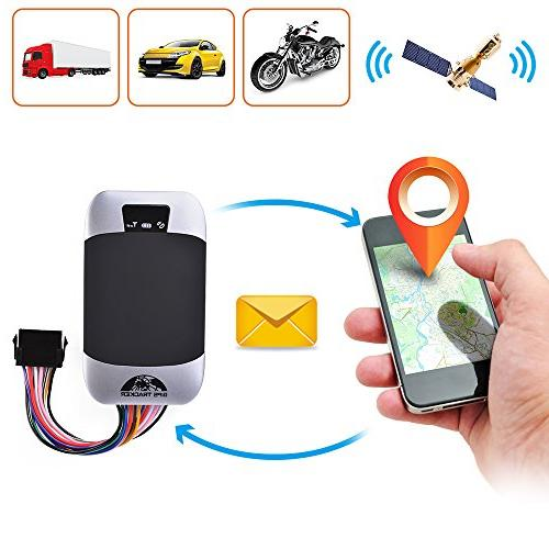 XCSOURCE GPS303-F Waterproof Time GSM/GPRS/SMS System Tracking for Car Motorcycle MA1012