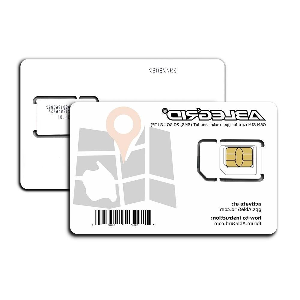 ABLEGRID GSM SIM card for Gps tracker IoT USA only