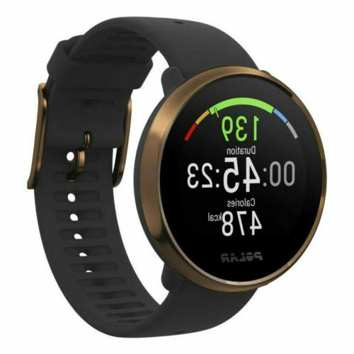 ignite fitness gps watch heart rate monitor