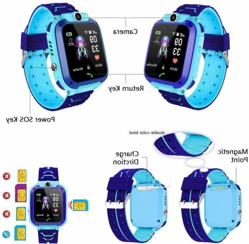 IP67 Smart Watch Anti-lost Safe Tracker SOS Voice Call Chat
