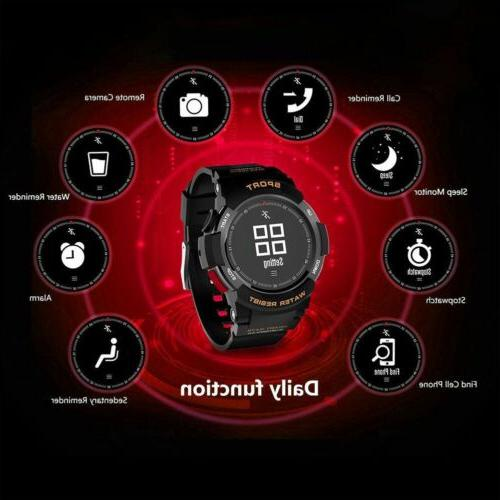 IP68 Fitness Tracker GPS Running Heart Rate Multi Sports