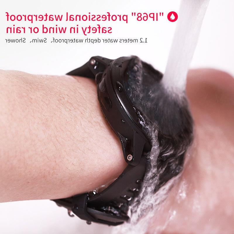 IP68 Waterproof GPS Heart Smartwatch for Android
