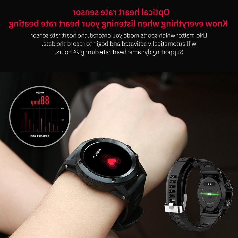 IP68 Waterproof GPS Heart Rate Smartwatch 4.4