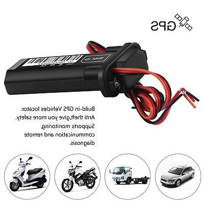Car Vehicle Motorcycle GSM GPS Tracker Locator Real Time Device