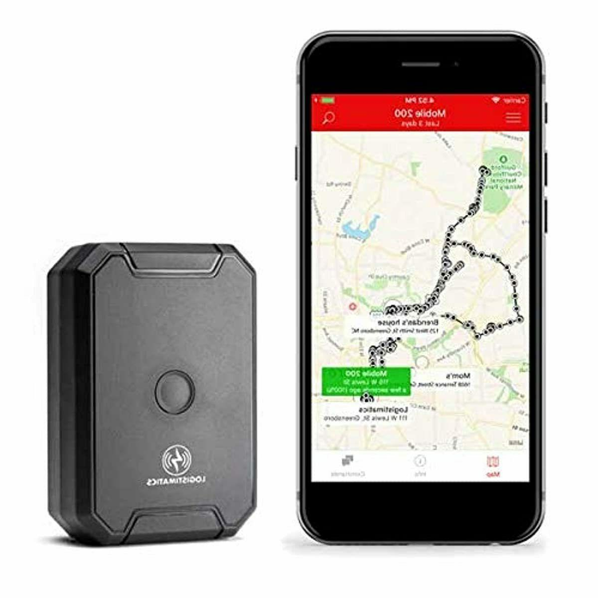 logistimatics mobile 200 gps tracker with live