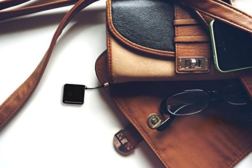 M-TRACKR Bluetooth Tracker Smart Finder for Your Keys, Phone, Bag Doubles Trigger