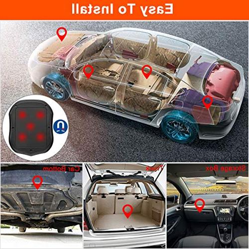 BARTUN Magnet Tracking Cars Motorcycle Real Time GPS No Monthly Days