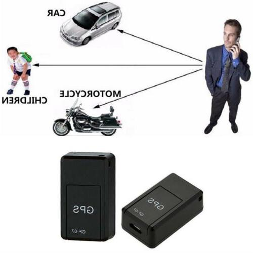 GF07 Magnetic GSM Mini SPY GPS Time Locator For Car