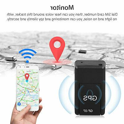 Magnetic GF07 Real Car Locator Tracker GSM/GPRS Tracking US