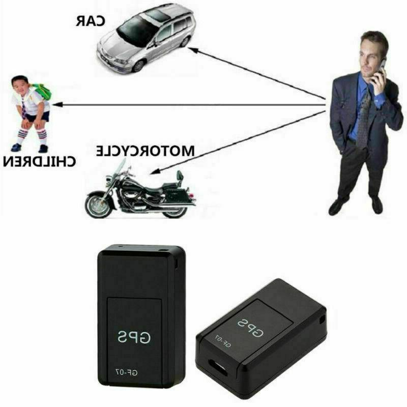 Magnetic Mini Car Spy GSM Real Time Tracking Device US