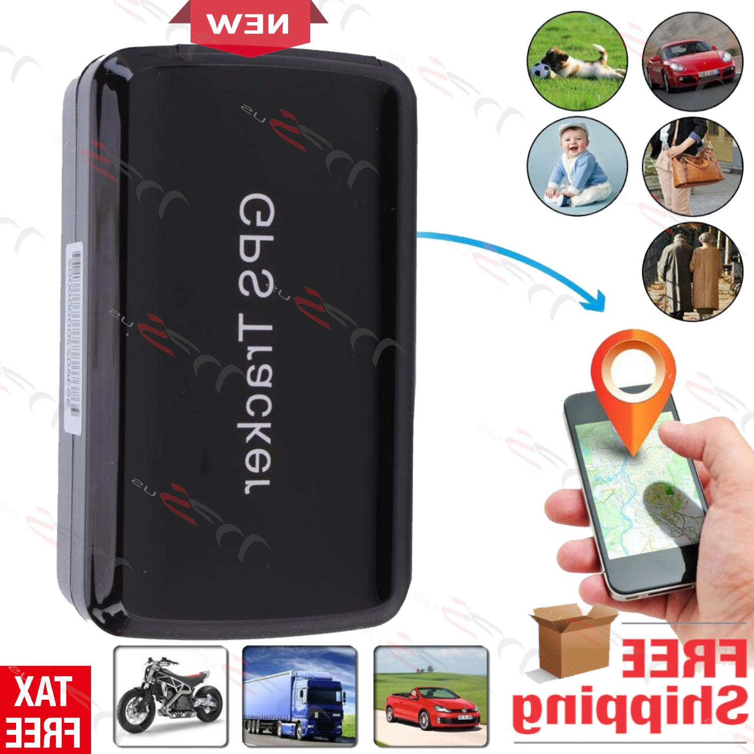 magnetic hidden gps tracker for car vehicle