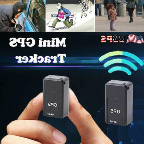 magnetic mini gps tracker car gsm gprs