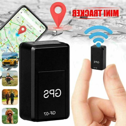 GF07 Mini Magnetic GPS Tracker Real-time Car Truck Vehicle L