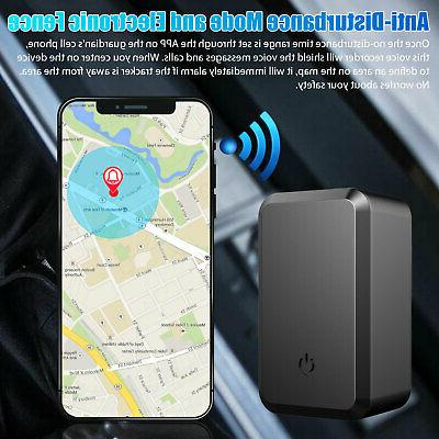 Magnetic Tracker Real Vehicles Truck Locator GSM Device