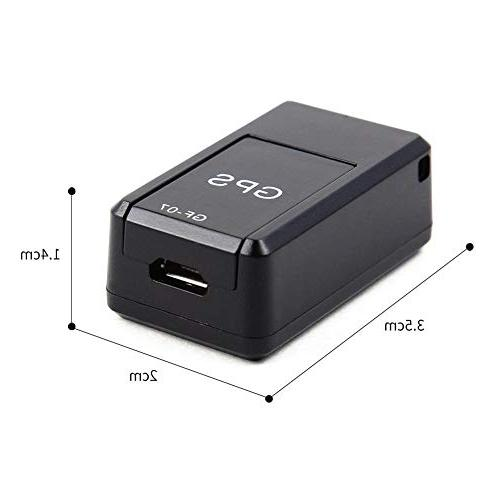 Macddy Car Tracker, Locator Adsorption Anti-Lost Voice Can Vehicle/Car/Person Location Tracker System