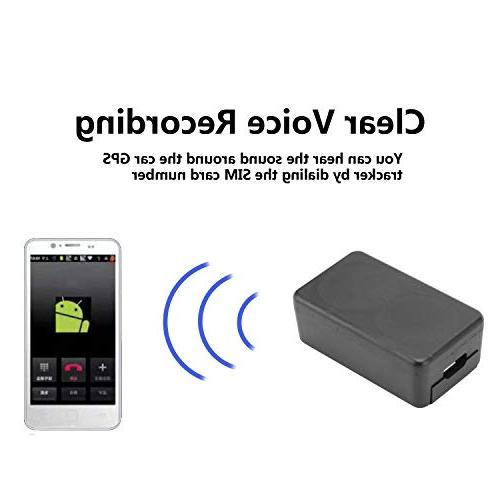 Mini GPS Vehicles Motorcycle Kids Dog Locator Tracking Device