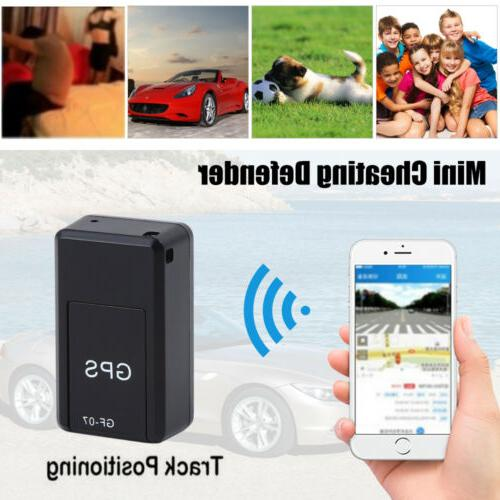 Mini Magnetic GPS Real-time Car Locator GSM 2019