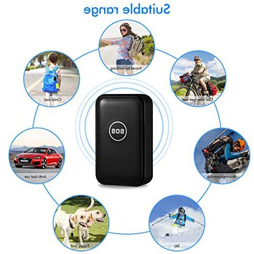 CaGuan Mini Portable GPS Tracker and Vehicle GPS Real-time Tracking Anti-Lost GPS Locator