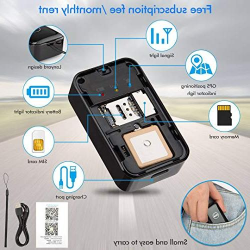 CaGuan Portable GPS Vehicle GPS Real-time Application Anti-Lost GPS Locator