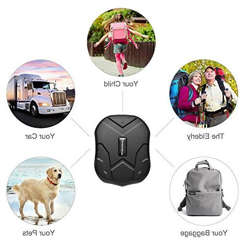 GPS Tracker,Anti-Lost Tracker, GPS Real Tracking Device Locator for Motorcycles Trucks