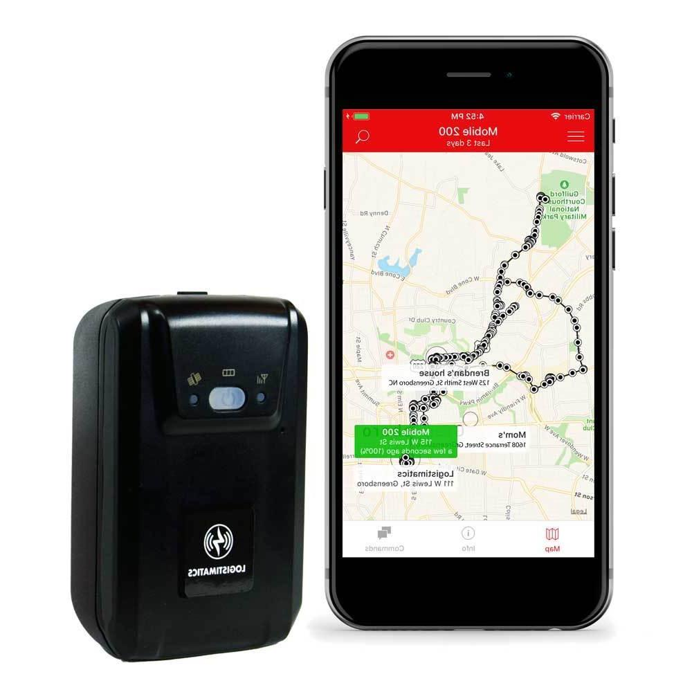 mobile 200 gps vehicle tracker with live