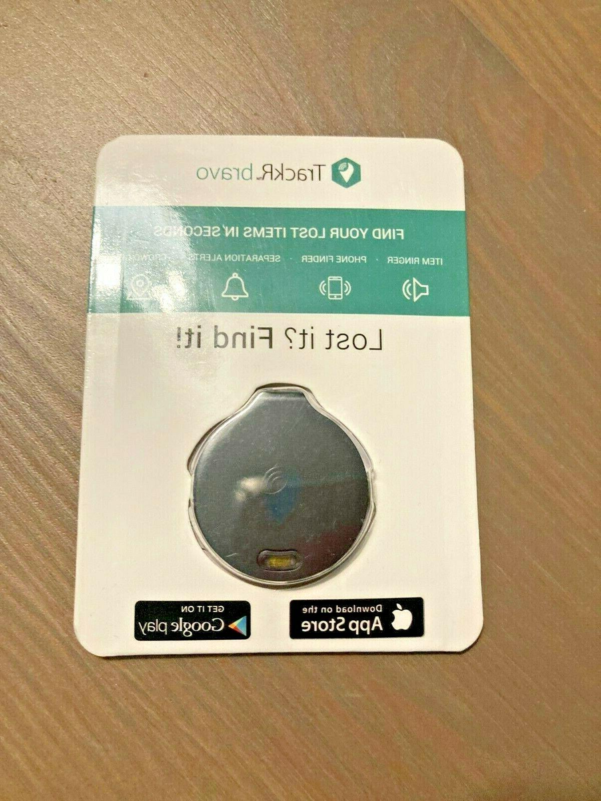 new bravo item tracker black gps bluetooth
