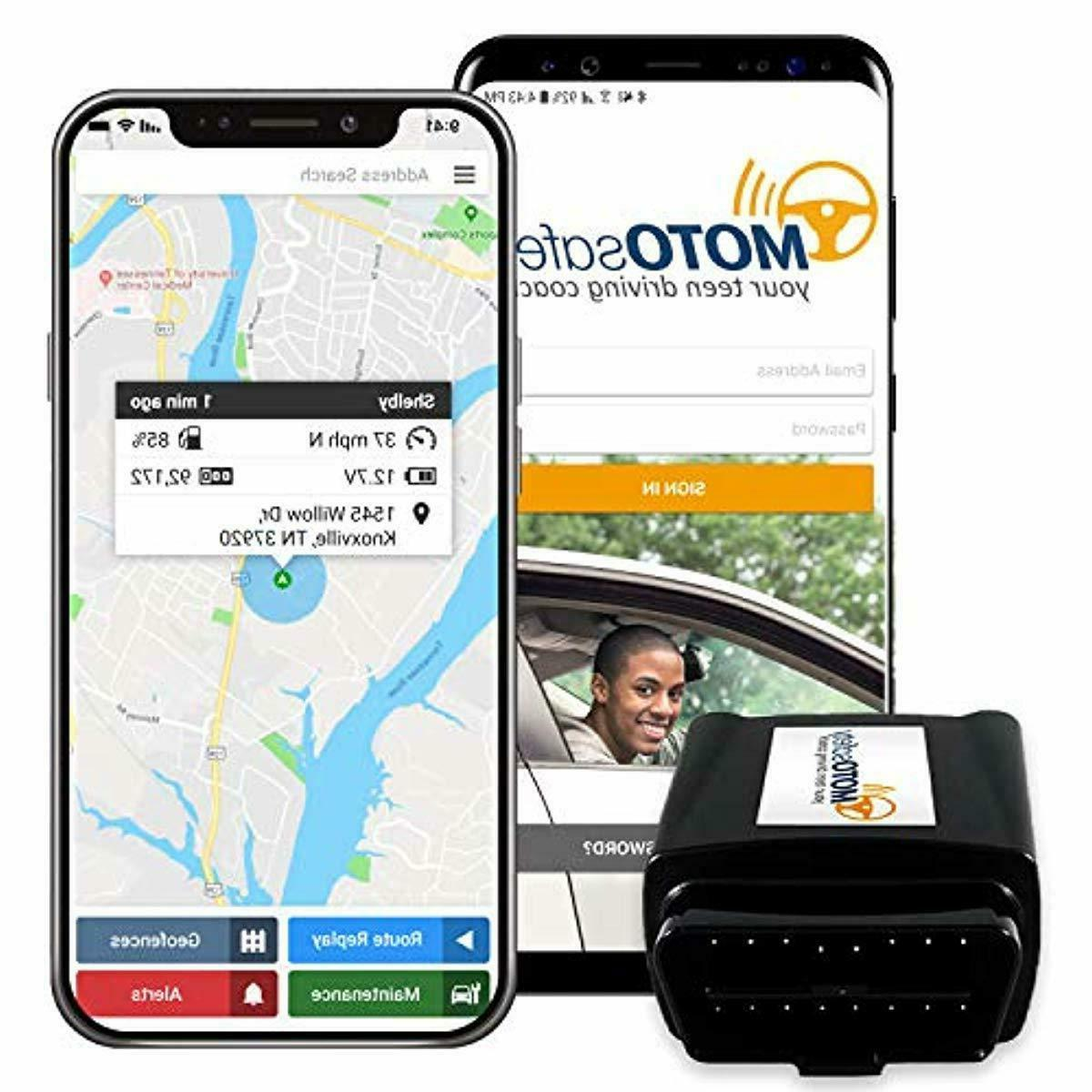 obd gps tracker with real time 3g