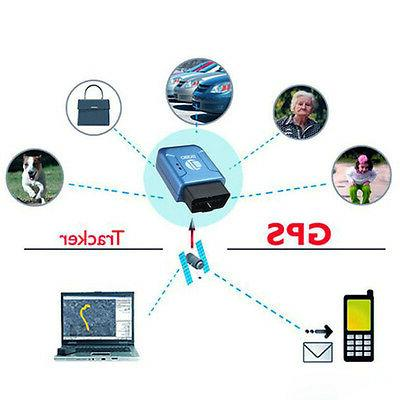 OBD II GPS Realtime Truck Vehicle Tracking GSM Device