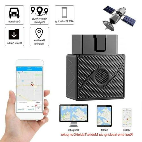 obd2 gps tracker real time vehicle tracking