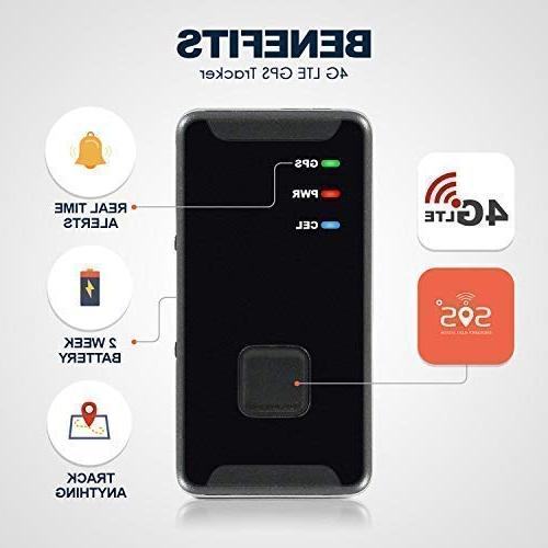 Personal Mini, Portable, Track in Real Time - LTE Button Device - Spy Travel