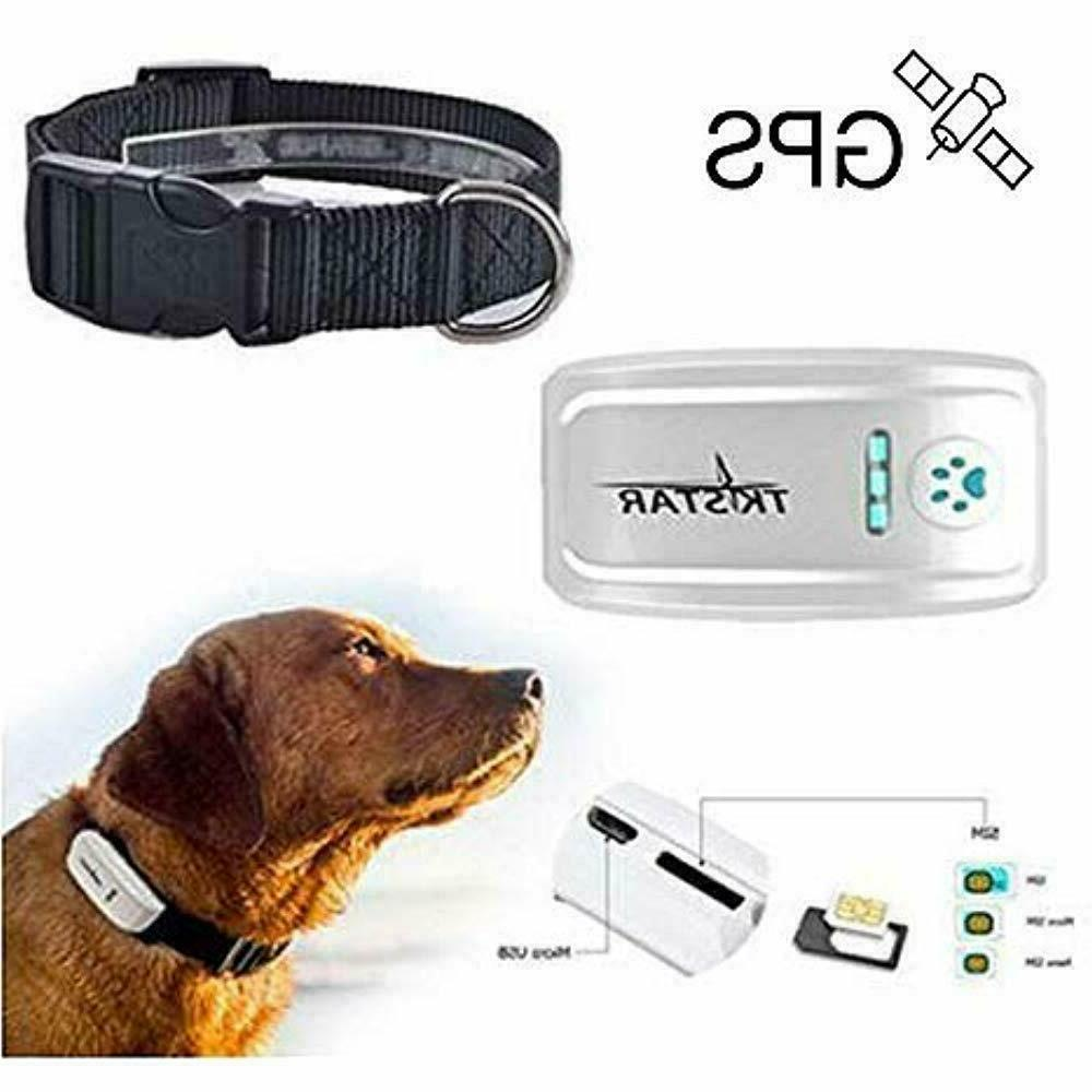 Pet Tracker,Hangang GPS For Dog, The Anti- Lost Collar SIM