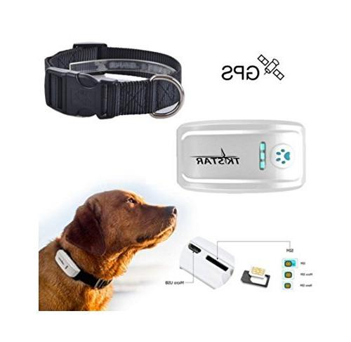 Pet Tracker 2nd Anti- Dog Collar Global Long Standby,Waterproof with Tracking