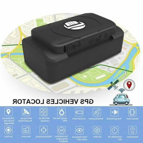 portable magnetic hidden gps tracker for car